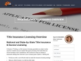 Title Insurance Licensing in New York