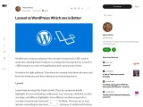Laravel Vs WordPress: Which One is Right Option for You