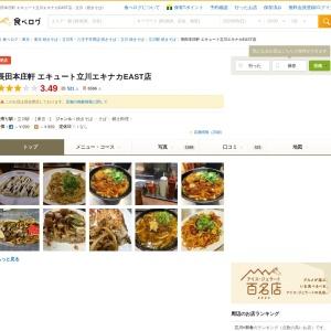 長田本庄軒 エキュート立川エキナカEAST店 - 立川/焼きそば   食べログ
