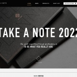 Take a Note 2020 手帳 Official Website