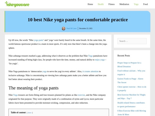 10 best Nike yoga pants for comfortable practice