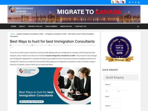 Best Ways to hunt for best Immigration Consultants