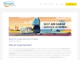 Features Of Air Cargo Services – Air Freight Service