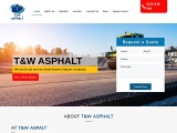 T&W Asphalt Contractor | Asphalt Company in Auckland