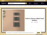 Buy Electric Black Heated Towel Rails   Designer Towel Radiators   Bathroom Radiators