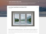 Look at these Trendy Window Frame Design of 2021.