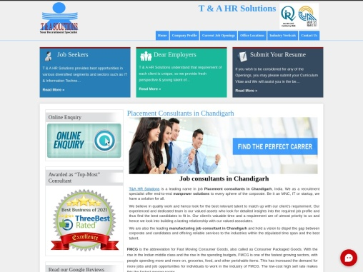 Consultants In Chandigarh – T&A Solution