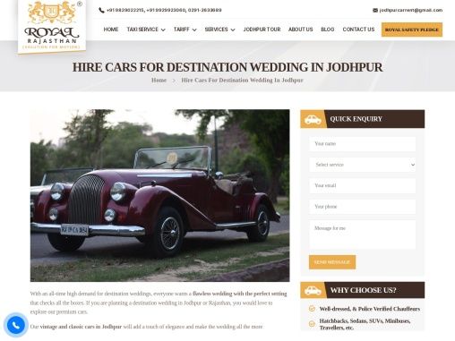 Hire a Luxury Car for wedding | Rent Classic & Vintage Cars for Wedding
