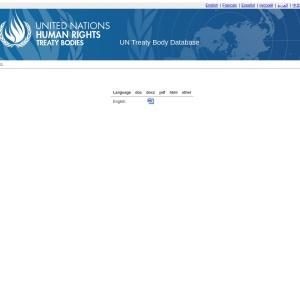 Treaty bodies Download