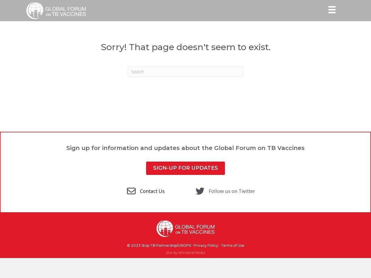 Register - Virtual Forum on TB Vaccines