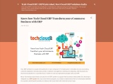 Know how Tech Cloud ERP Transform your eCommerce Business with ERP