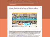Benefits of using an ERP Software for Wholesale Industry