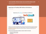 Importance of Trading ERP Software for Business