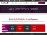 Social Media Marketing pricing plans