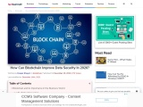 How Can Blockchain Improve Data Security In 2020?