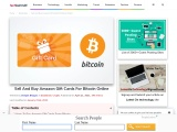 Sell And Buy Amazon Gift Cards For Bitcoin Online
