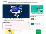 The Main Types Of Websites For Businesses