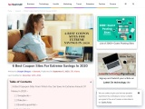 6 Best Coupon Sites For Extreme Savings In 2020