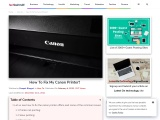 How To Fix My Canon Printer?   – Tech behind It