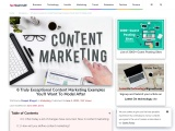 6 Truly Exceptional Content Marketing Examples You'll Want To Model After