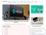 Discover The 25 Best Official And Third-Party Kodi Add-Ons