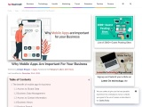 Why Mobile Apps Are Important For Your Business