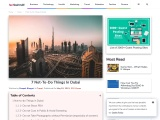 7 Not-To-Do Things In Dubai – Tech Behind It