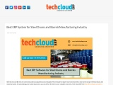 Best ERP Software for Steel Drums and Barrels Manufacturing Industry