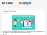 Best HR Management Software in Hyderabad | HRMS Software in India