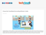 Best Cloud Based Accounting Software in Hyderabad