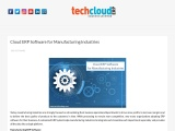 Best ERP Software in Hyderabad | Cloud ERP for Manufacturing Industry