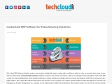 Customized ERP Software for Manufacturing Industries in Hyderabad