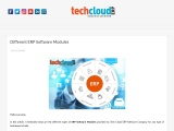 Cloud Based ERP Modules in India | ERP Software Modules in Hyderabad