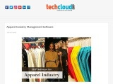 ERP Software for Apparel Industries in India | Tech Cloud ERP