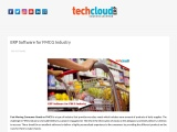 ERP Software for FMCG Industry in India | Cloud ERP for FMCG Industry in Hyderabad