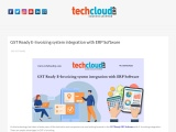 GST Ready E-Invoicing system integration with ERP Software