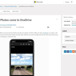 Live Photos come to OneDrive - Microsoft Tech Community