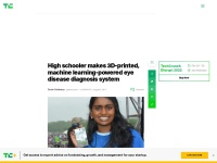 https://techcrunch.com/2017/08/03/high-schooler-makes-3d-printed-machine-learning-powered-eye-disease-diagnosis-system/