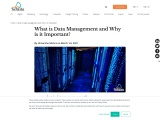 What is Data Management and Why is it Important?