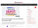 How to Get Instagram Likes and Followers with GetInsta App?