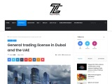 General trading license in Dubai and the UAE