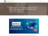 Odoo App Development – Development Time, Cost, Features