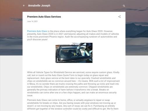 Premiere Auto Glass Services-