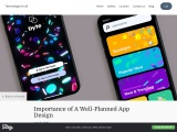 Importance of A Well-Planned App Design
