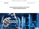 Stay Innovative and Secure with 2021 Telecom Billing Solutions