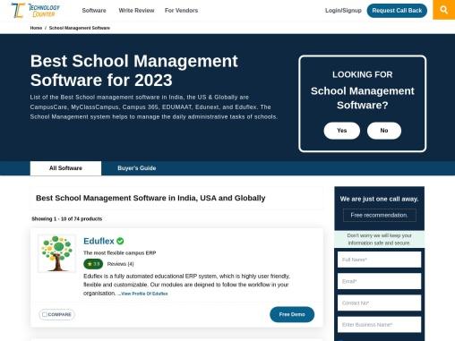 Best School Management Software in 2021   List of Top School Software