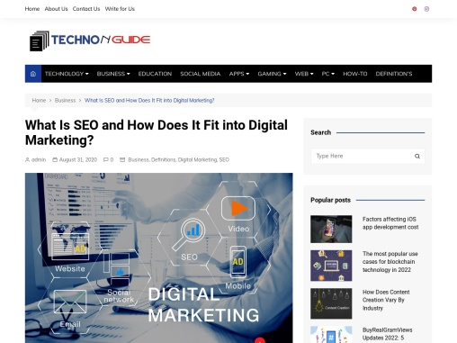 What Is SEO and How Does It Fit into Digital Marketing?
