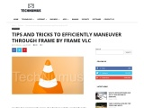 How to Play a Video Frame by Frame in VLC player