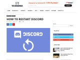 How to Refresh Discord or Restart a Discord Server