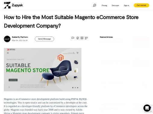 Techsite-How to Hire the Most Suitable Magento eCommerce Store Development Company?